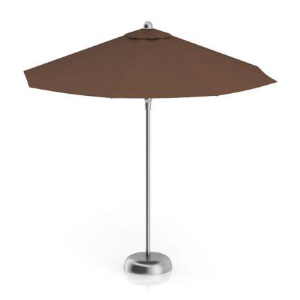3D Round Brown Sunshade Umbrella