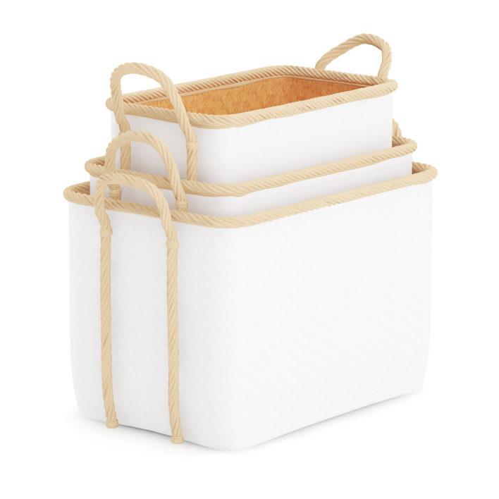 3D Storage Basket