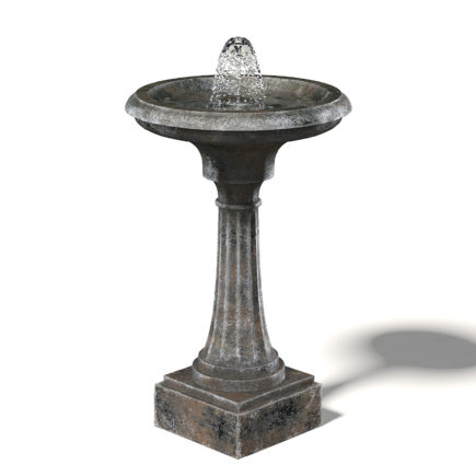 Old Metal Fountain Free 3D Model