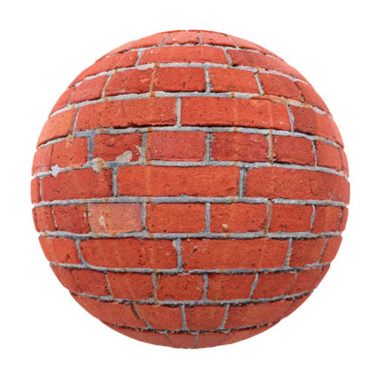 Red Brick Wall Free PBR Texture