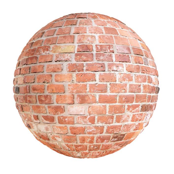 Red Brick Wall Free PBR Texture